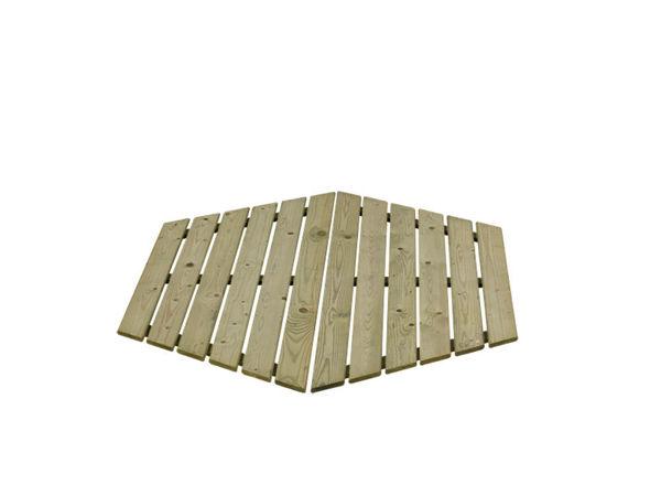 Plus Sandkastendeckel 6-eckig 2-teilig für 4933-1